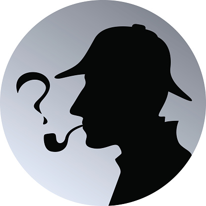 Sherlock clipart picture royalty free library Sherlock holmes head silhouette clipart clipartfest ... picture royalty free library