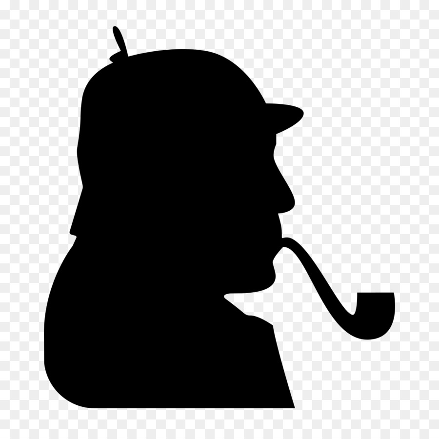 Sherlock holmes clipart png royalty free stock Black Line Background png download - 1200*1200 - Free ... png royalty free stock