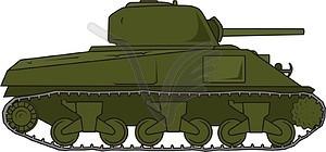 Sherman tank clipart image freeuse stock Tank Sherman M4A3 - vector | Clipart Panda - Free Clipart Images image freeuse stock