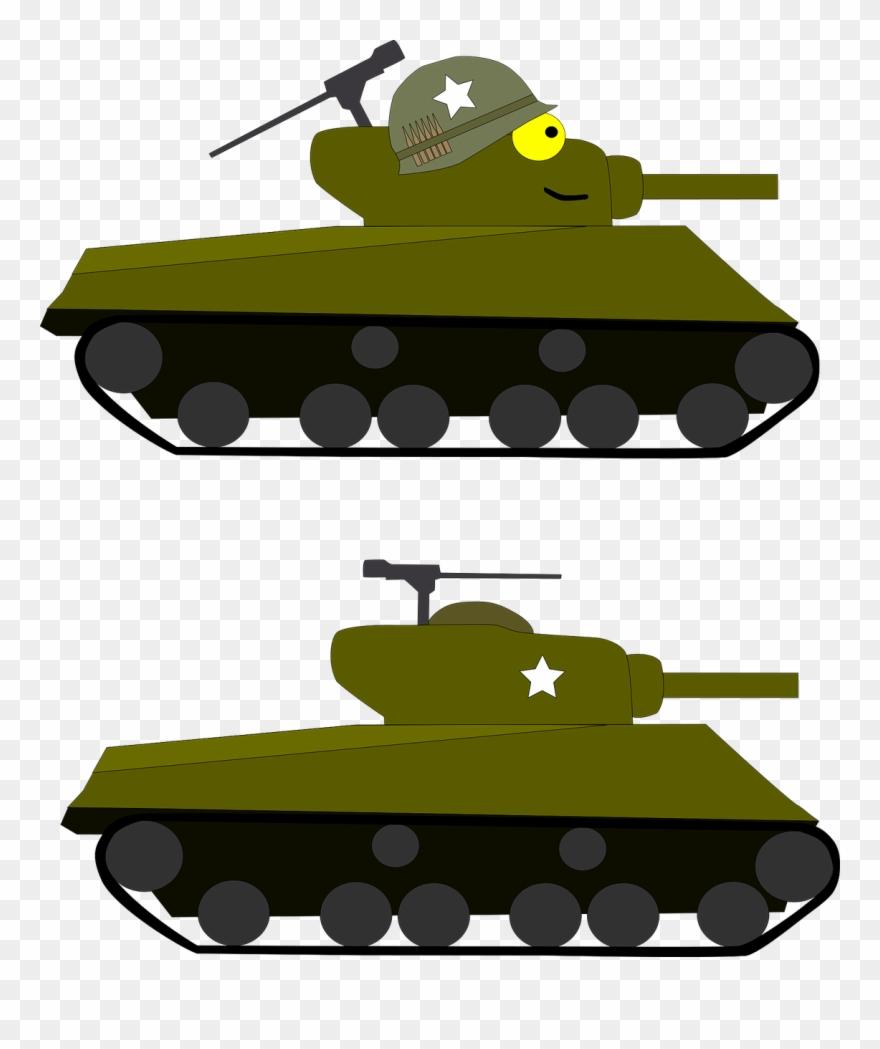 Sherman tank clipart jpg download Tank Cartoon Army Military Png Image - M4 Sherman Tank ... jpg download