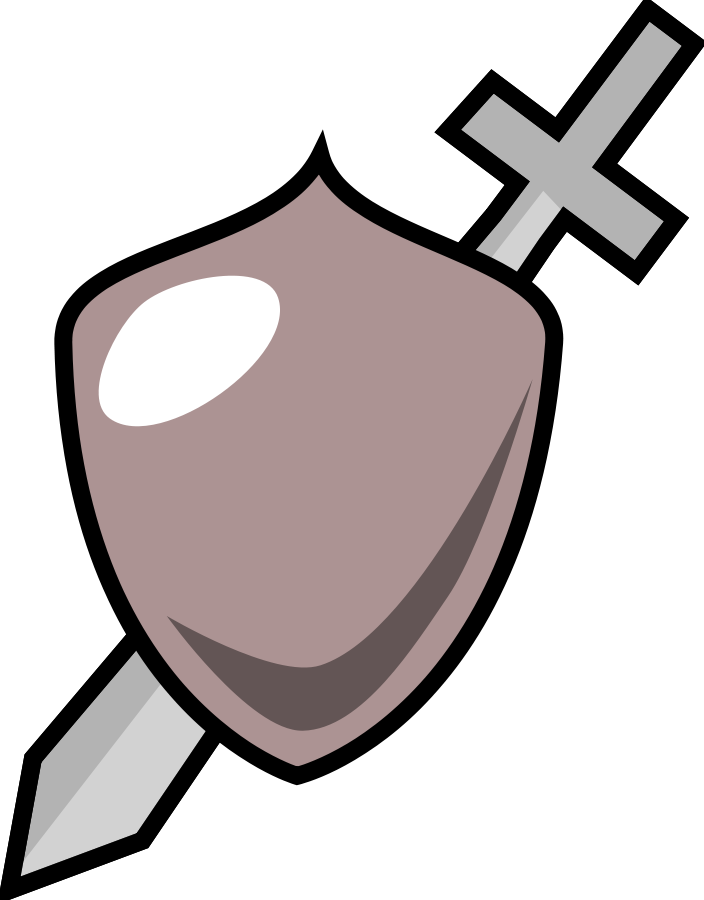 Shield and sword clipart jpg library Sword And Shield Clipart | Clipart Panda - Free Clipart Images jpg library