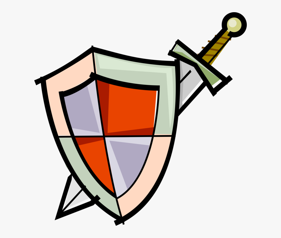 Shield and sword clipart image royalty free library Medieval Battle Image Illustration Of Middle Ages - Simple ... image royalty free library
