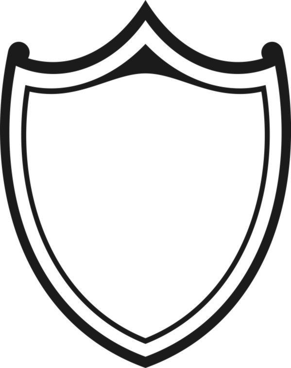 Shield black and white clipart png transparent library Shield clipart black and white » Clipart Portal png transparent library