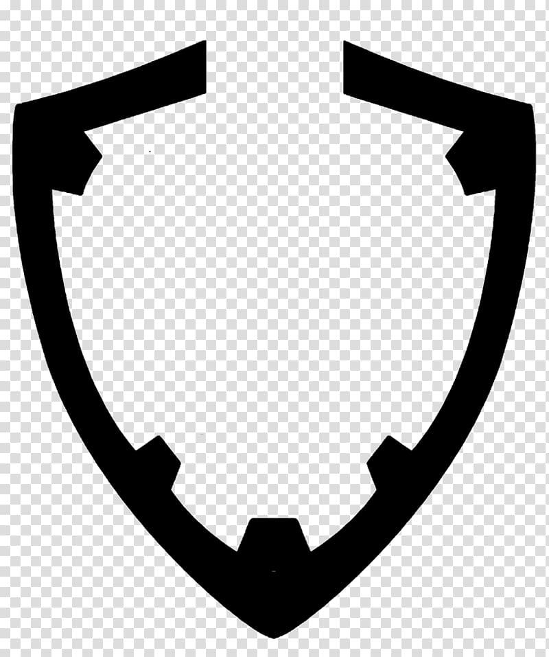 Shield black and white clipart png black and white Shield Symbol , shield transparent background PNG clipart ... png black and white