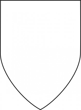 Knights shield border clipart black and white clip free library Blank Shield Clipart | Clipart Panda - Free Clipart Images clip free library