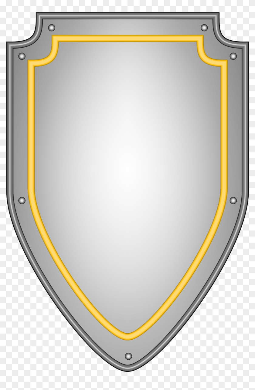 Shield clipart transparent background clip art black and white download Shield - Medieval Shield Transparent Background, HD Png ... clip art black and white download