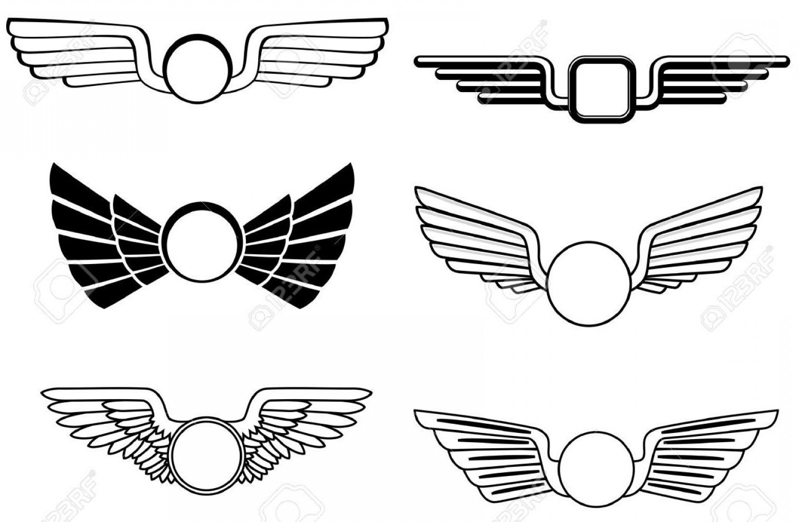Shield with wings clipart transparent download Military Shield With Wings Vector | SOIDERGI transparent download