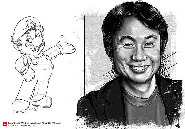 Shigeru miyamoto clipart image free Creative Titans: Shigeru Miyamoto and the Story of Nintendo image free
