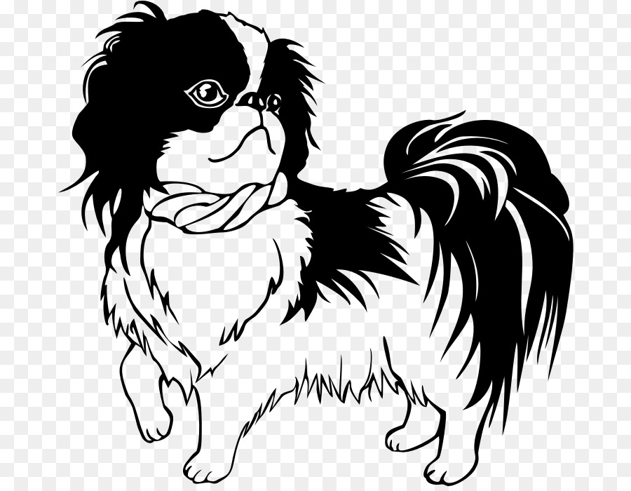 Shih tzu puppies clipart image black and white download Dog Drawing clipart - Puppy, Dog, Nose, transparent clip art image black and white download