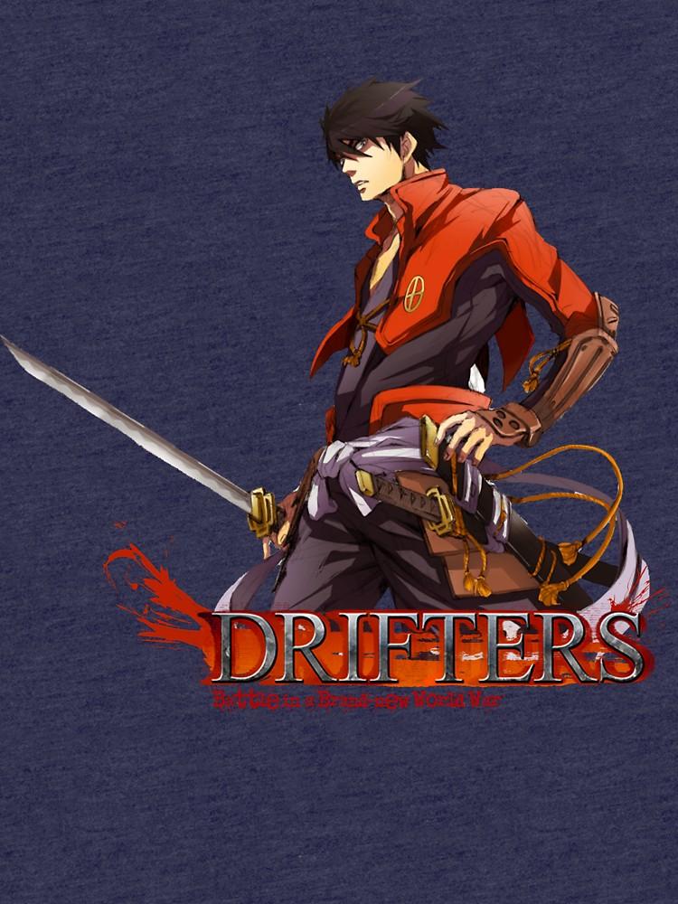 Shimazu toyohisa clipart banner transparent Drifters Shimazu Toyohisa | Tri-blend T-Shirt banner transparent