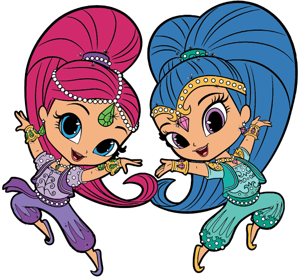 Shimmer and shine clipart images freeuse Shimmer and Shine Clipart | Cartoon Clip Art freeuse