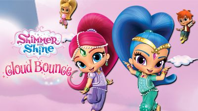 Shine clipart nick jr png transparent Shimmer and Shine: Cloud Bounce png transparent