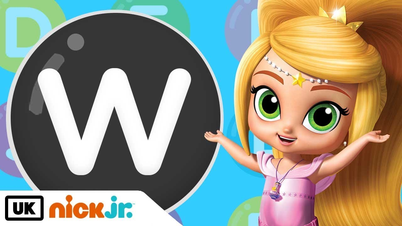 Shine clipart nick jr clipart black and white library Words beginning with W! - Featuring Shimmer and Shine | Nick Jr. UK clipart black and white library