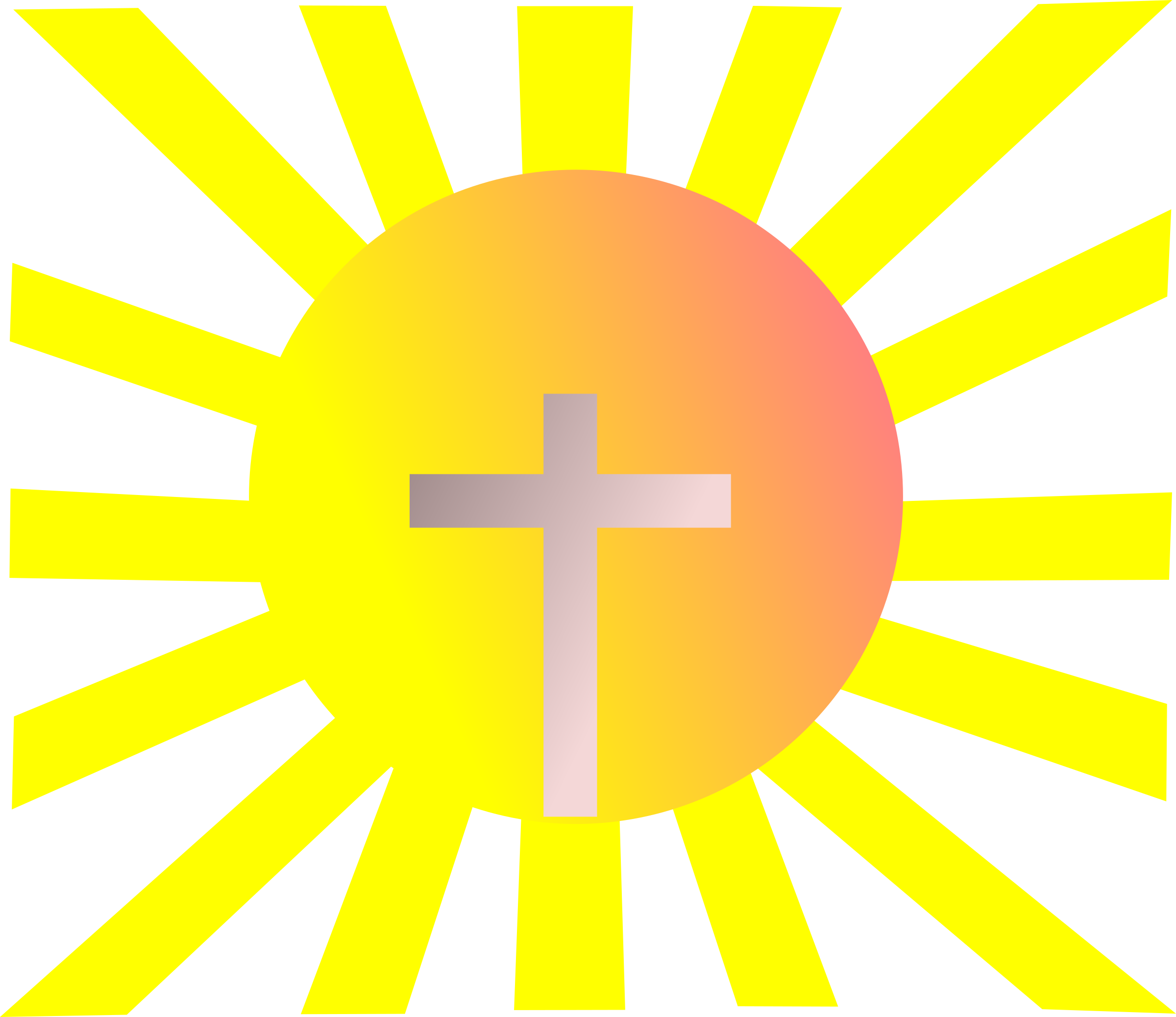 Shining cross clipart graphic royalty free stock Clipart - Jesus Reappearance graphic royalty free stock