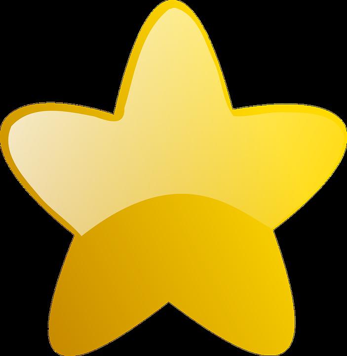 Shining gold star clipart svg free Gold Stars Clipart#4852392 - Shop of Clipart Library svg free