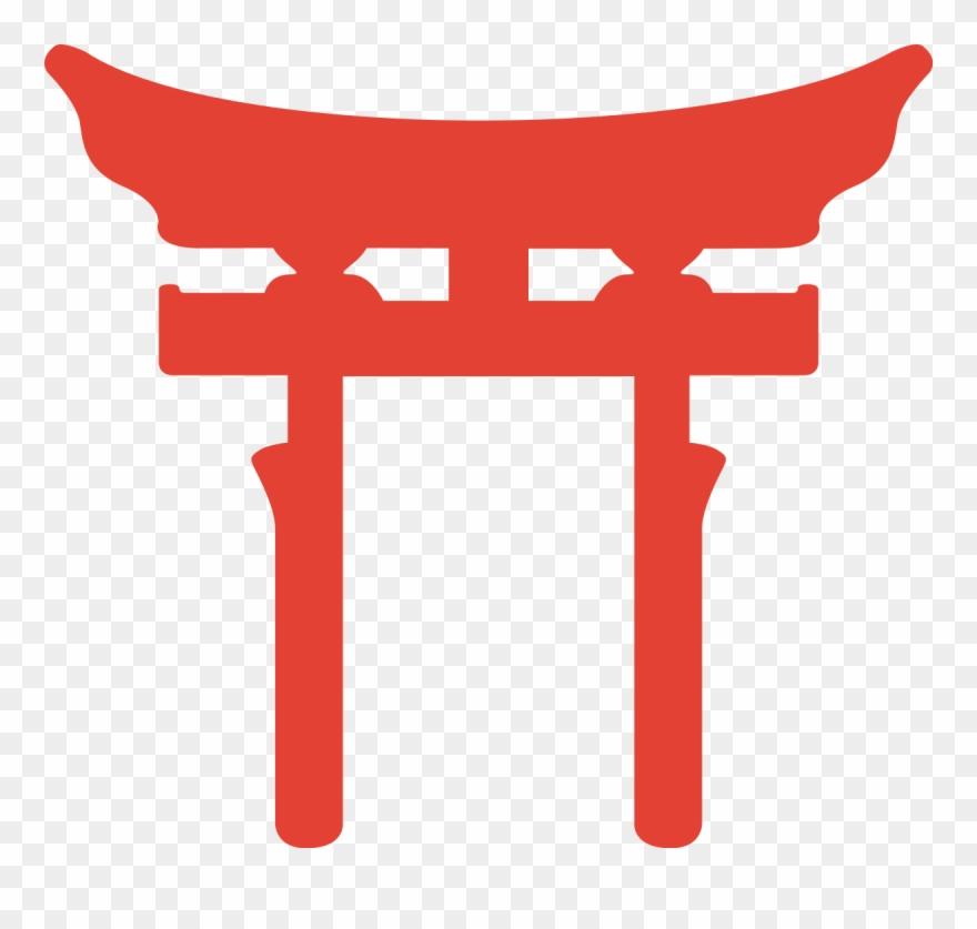 Shinto shrine clipart image royalty free download Shrine Clipart Japanese Gate - Shinto Symbol - Png Download ... image royalty free download