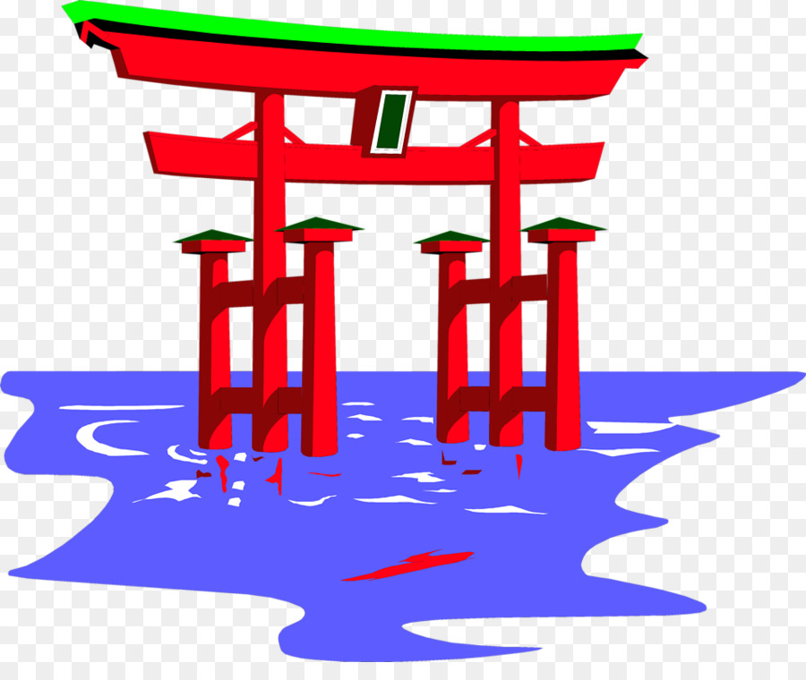Shinto shrine clipart picture royalty free stock Red Tree clipart - Religion, Illustration, Red, transparent ... picture royalty free stock