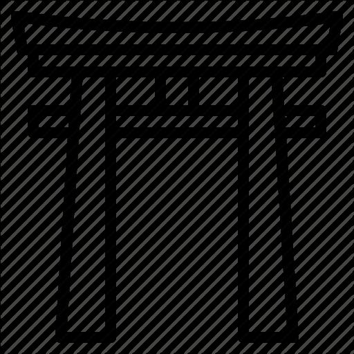 Shinto shrine clipart image free stock \'Japan\' by Mavadee image free stock