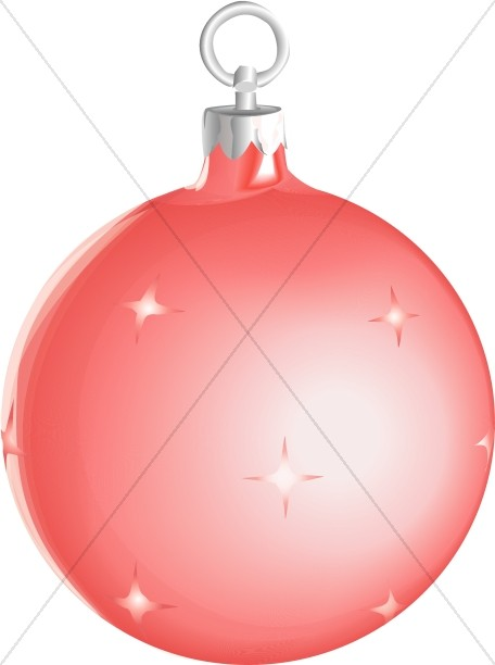 Shiny christmas ornament clipart image Red Shiny Christmas Ornament   Traditional Christmas ... image