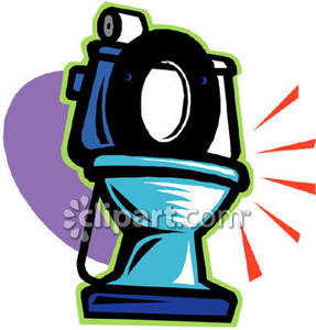 Shiny clean clipart clipart freeuse download Shiny Clean Toilet - Royalty Free Clipart Picture clipart freeuse download