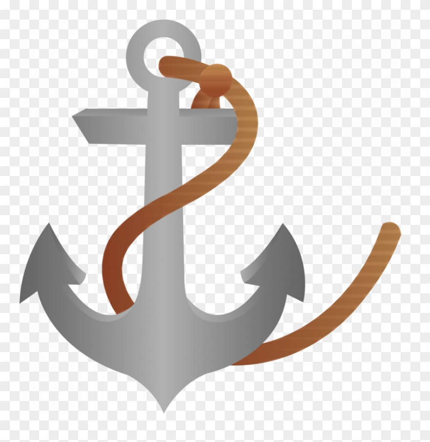 Ship and anchor clipart clip transparent stock Ship Anchor Clipart With Rope Free - Pirate Ship Anchor ... clip transparent stock