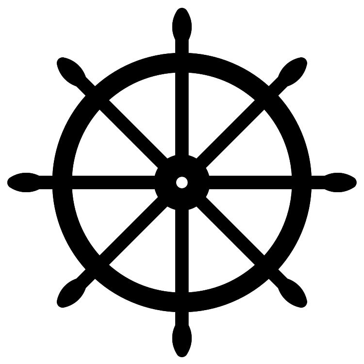 Ship steering wheel clipart black and white clipart library download Ship Wheel Clipart | Free download best Ship Wheel Clipart ... clipart library download