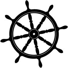 Ship steering wheel clipart black and white jpg transparent download boat steering wheel black and white - Google Search | Girls ... jpg transparent download