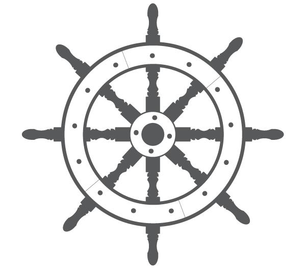 Ship wheel clipart free freeuse Ship Steering Wheel Free Vector freeuse