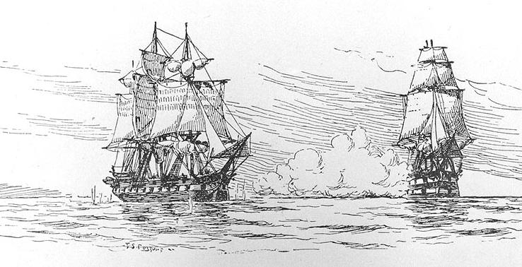 Ships in the port clipart witch sentence relates to free stock Chesapeake–Leopard affair - Wikipedia free stock
