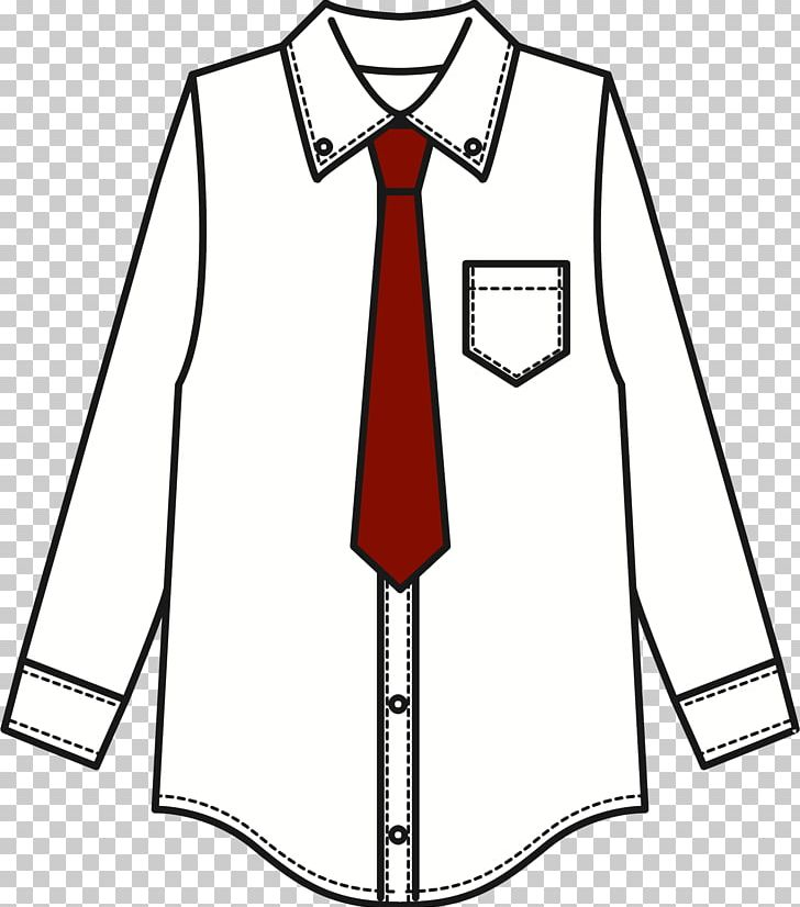 Shirt and tie clipart black and white graphic transparent library T-shirt Necktie Tie Clip PNG, Clipart, Area, Artwork, Black ... graphic transparent library