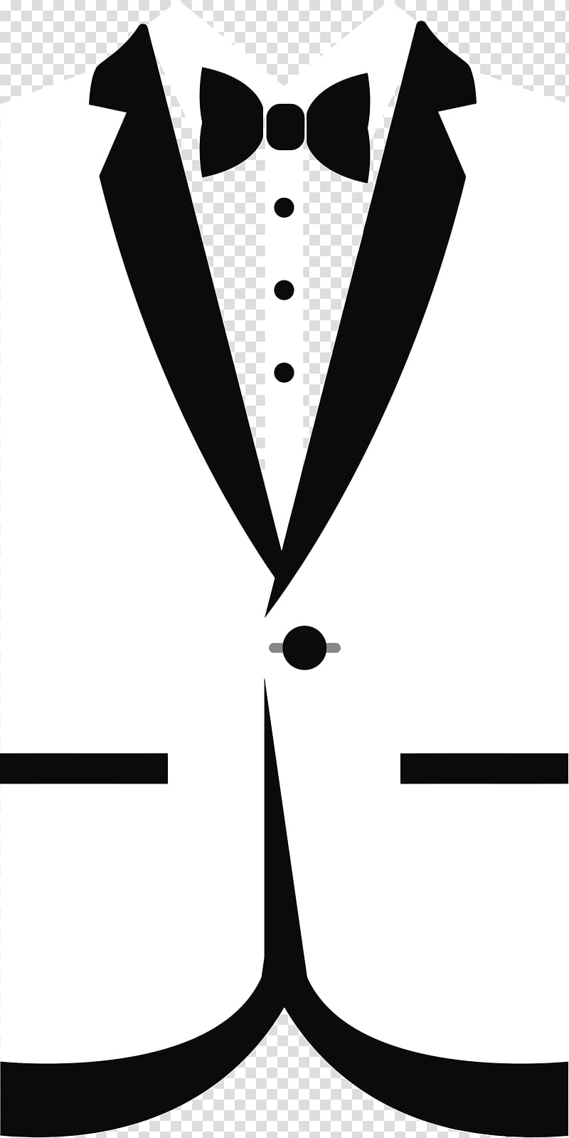 Shirt and tie clipart black and white jpg transparent stock White suit jacket illustration, T-shirt Tuxedo Bow tie , tie ... jpg transparent stock