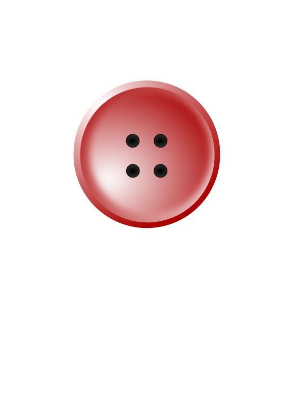 Shirt buttons clipart image freeuse download Free Clipart: Red shirt button | ryan_s image freeuse download