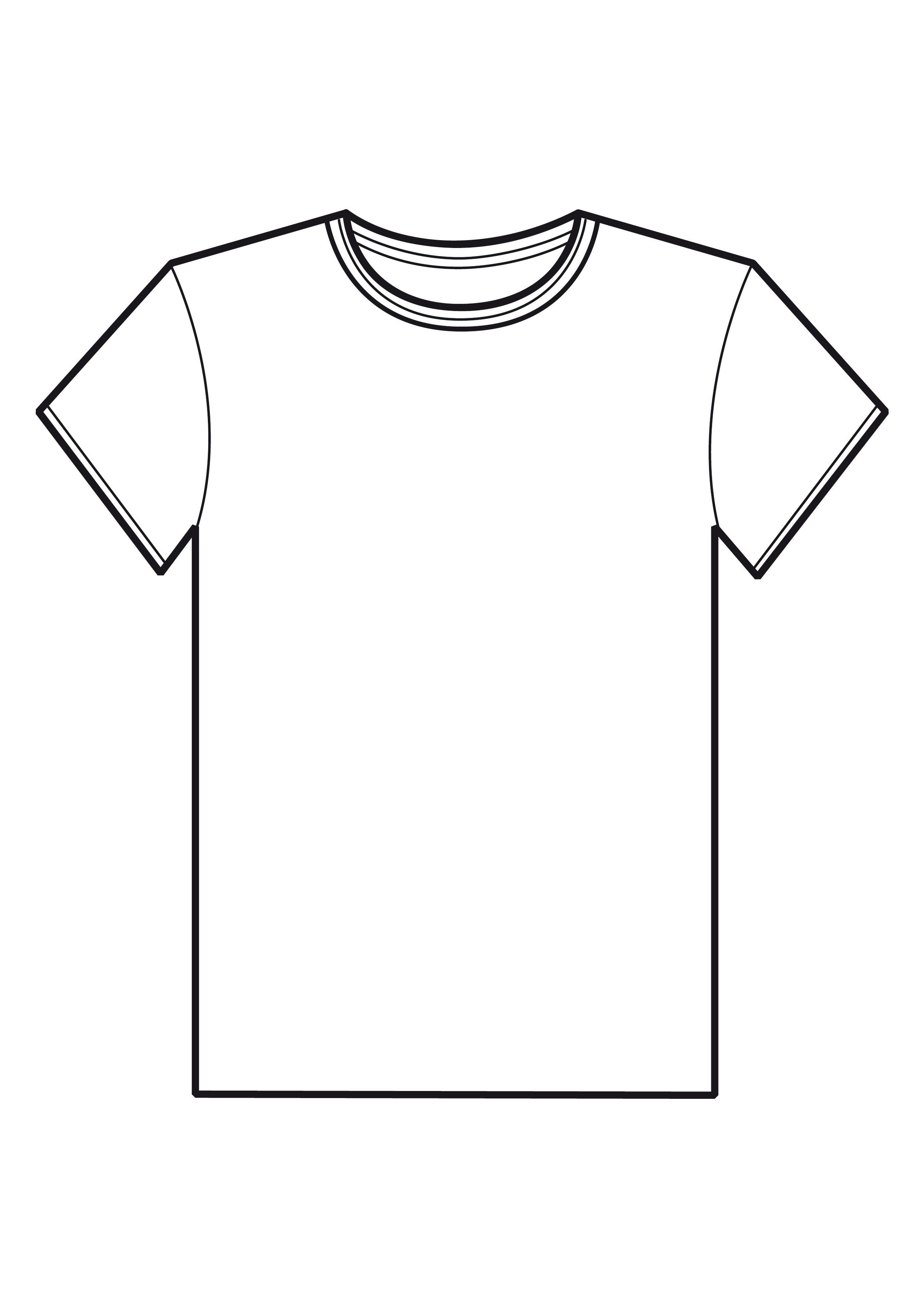 White teeshirt clipart image library T shirt shirt clip art images free clipart - ClipartBarn image library