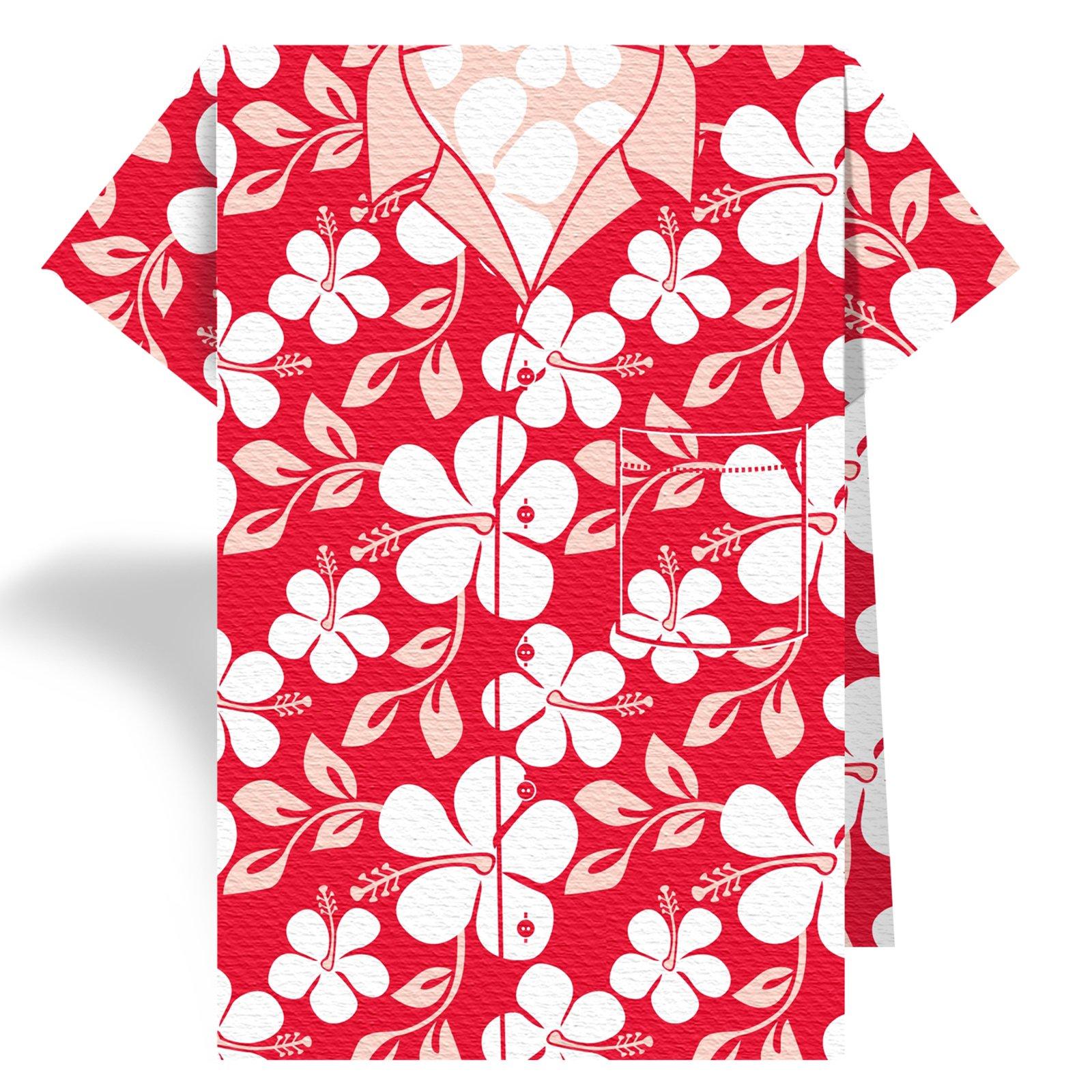 Shirt that has a red stain clipart vector transparent stock Best Hawaiian Shirt Clip Art #19376 - Clipartion.com vector transparent stock