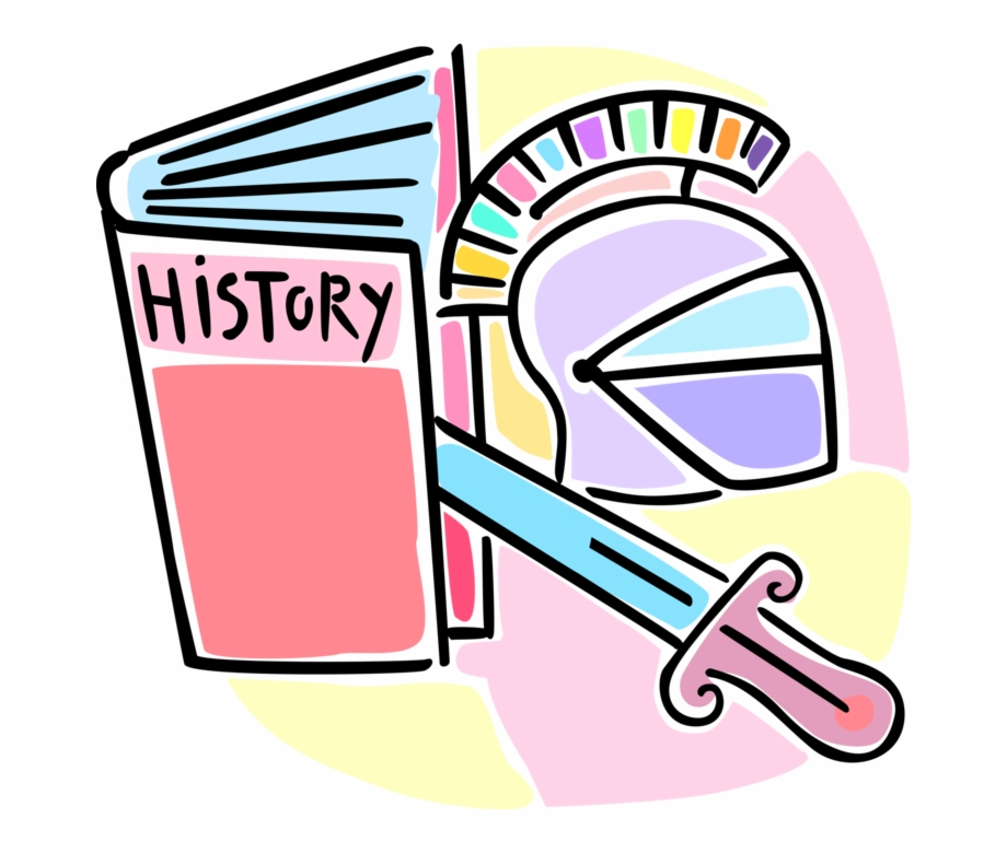 History images clipart jpg freeuse download Vector Illustration Of School History Class Textbook ... jpg freeuse download