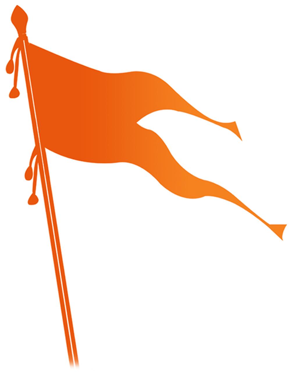 Shivaji maharaj flag clipart jpg library library Shiv sena logo jpg library library