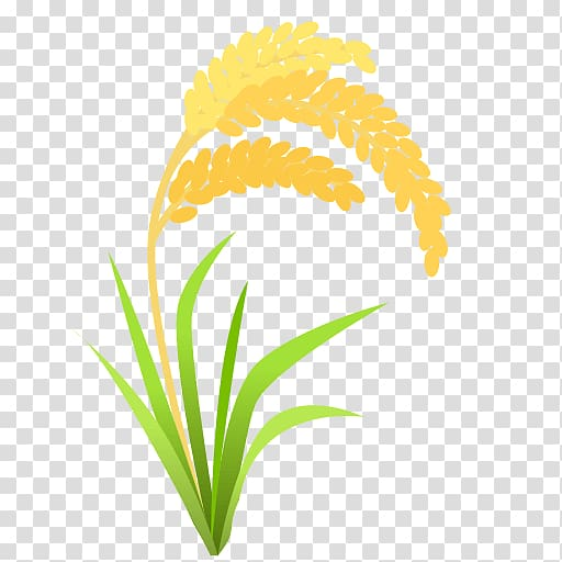 Shock of wheat clipart with transparent background image freeuse stock Emoji Rice SMS Text messaging , ears transparent background ... image freeuse stock