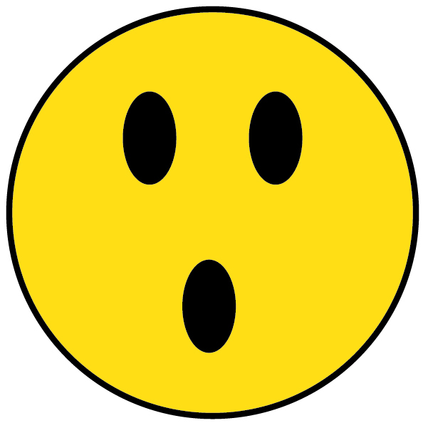 Shocked happy face clipart royalty free library Free Shocked Smiley Face, Download Free Clip Art, Free Clip ... royalty free library
