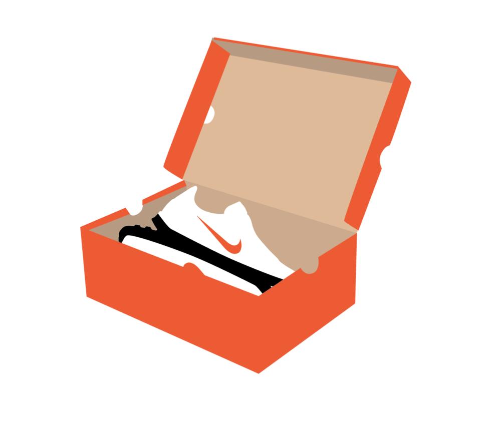 Shoe box clipart svg transparent stock Nike Shoe Box Png - Disun svg transparent stock