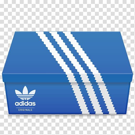 Shoe box clipart clip free download Adidas shoe box, blue box brand material, Adidas Shoebox ... clip free download