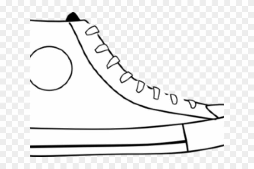 Shoe outline clipart