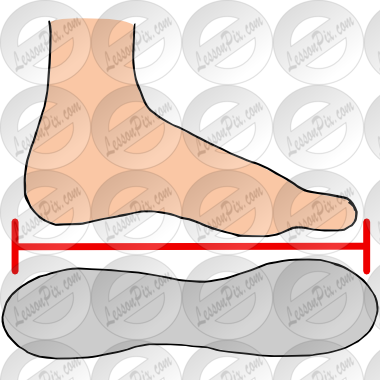 Shoe size clipart image freeuse Shoe Size Picture for Classroom / Therapy Use - Great Shoe Size ... image freeuse