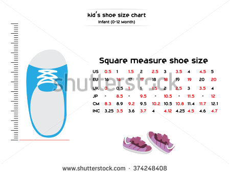 Shoe size clipart graphic freeuse download Shoe Size Stock Vectors, Images & Vector Art | Shutterstock graphic freeuse download
