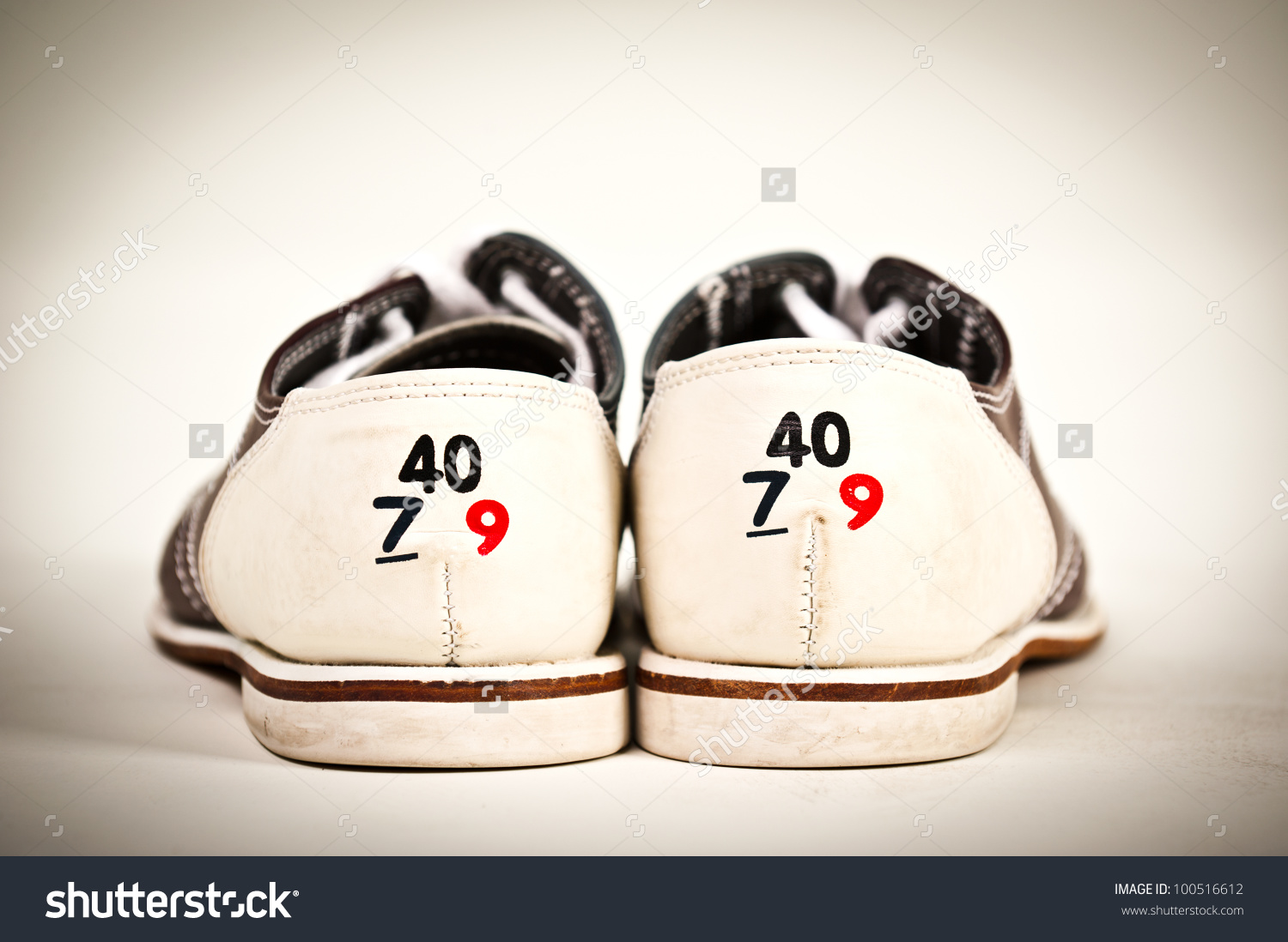 Shoe size clipart banner library Bowling Shoe Shoe Size Stock Photo 100516612 - Shutterstock banner library
