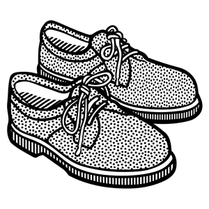 Shoes clipart zip file download clip freeuse library shoes - lineart clipart, cliparts of shoes - lineart free ... clip freeuse library