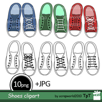 Shoes clipart zip file download picture transparent Activities Tennis shoe clipart lacing+Black white outline clip art picture transparent