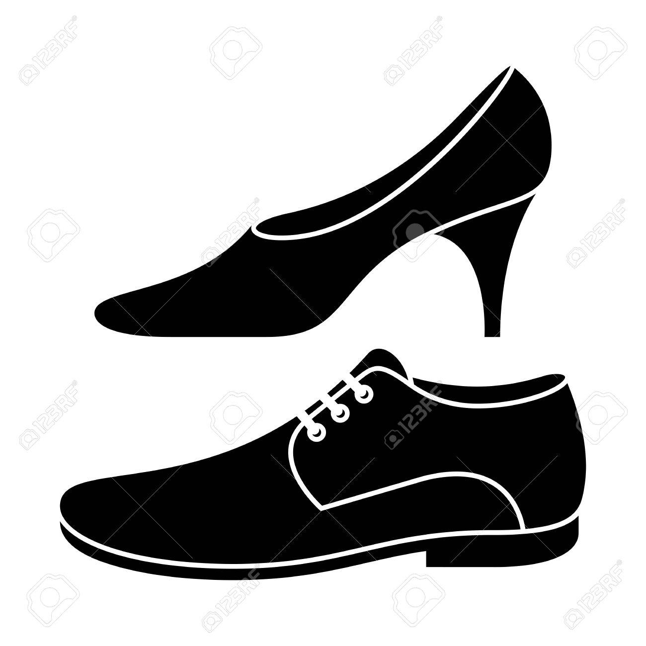 Shoes for men clipart image freeuse download 12+ Women Shoes Clipart | ClipartLook image freeuse download