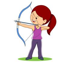 Shooting arrow clipart vector library Shooting arrow clipart - ClipartFest vector library