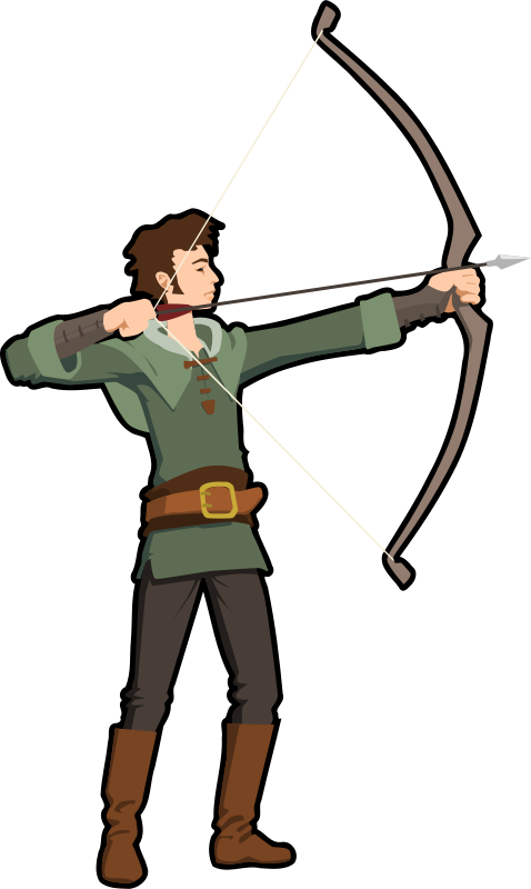 Shooting arrow clipart graphic Shooting arrow clipart - ClipartFest graphic