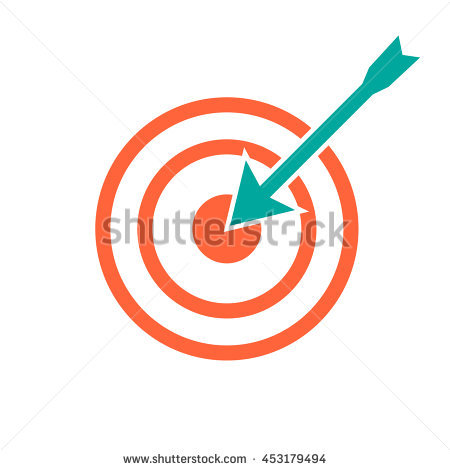 Shooting arrow target clipart clip art freeuse stock Shooting Arrow Stock Photos, Royalty-Free Images & Vectors ... clip art freeuse stock